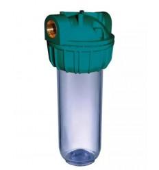 Pack Filtre CR10 3/4 3 m3/h avec support + clé + filtre Sédiments 25μ CR2J Aqualine