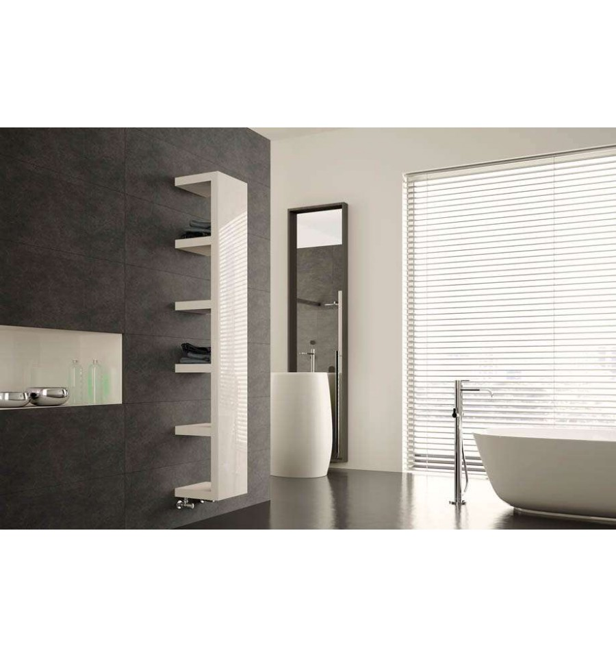 radiateur electrique design quadraqua l 1828x300 irsap prix l ger. Black Bedroom Furniture Sets. Home Design Ideas