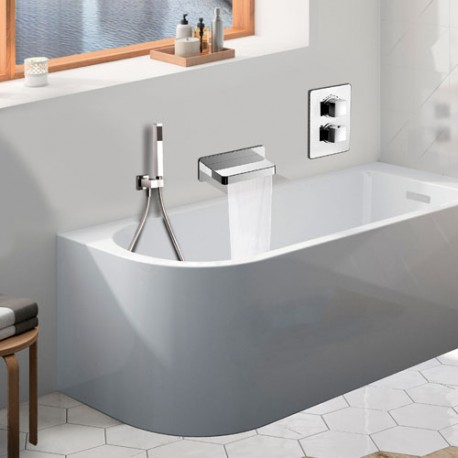 Ensemble DAX Bain Douche à Encastrer Thermostatique par Paini