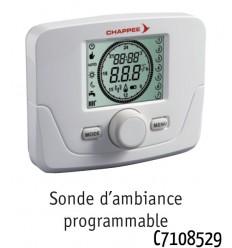 Sonde d'Ambiance Thermostatique Programmable sans Fil C7108529 Chappée