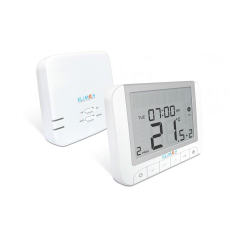 Thermostat Digital Hebdomadaire Programmable pour Climatiseur Monobloc Réversible Klimea