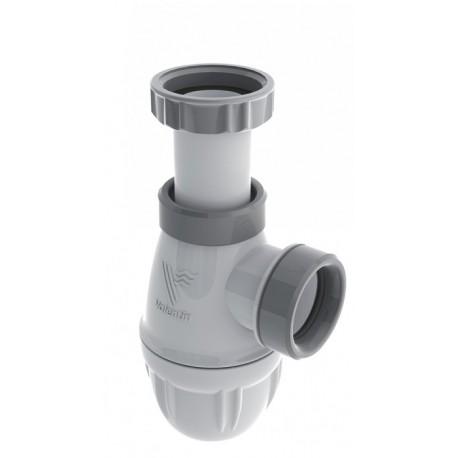 Siphon Connectic Lavabo Bi-Matiere Valentin avec joints intégrés