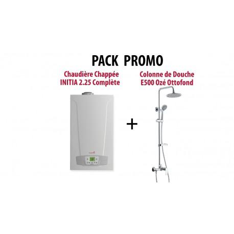 Chaudière Initia Plus Compact HTE 2.25 Chappée - Chauffage et ECS par Micro Accumulation