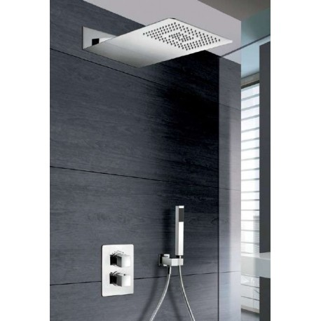 Ensemble de douche thermostatique encastrer flag prix cass - Robinetterie douche encastrable ...