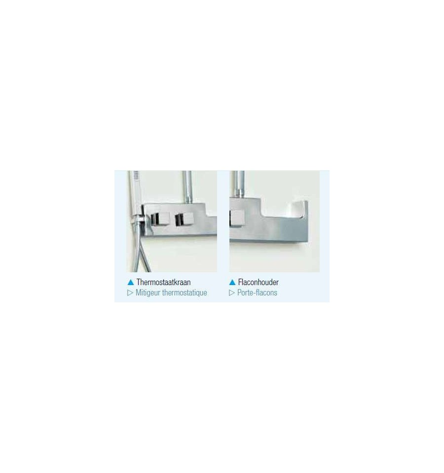 combin de douche aquachrome kinedo prix canon. Black Bedroom Furniture Sets. Home Design Ideas
