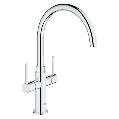 Mitigeur évier Grohe Ambi 30190000