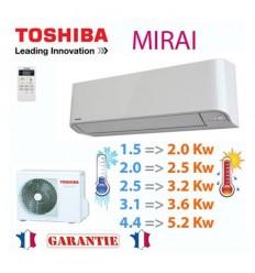 Toshiba Mirai R32 Réversible
