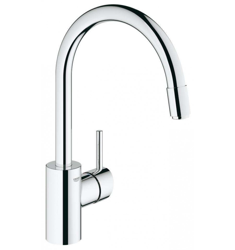 Mitigeur vier grohe concetto 32663001 prix pas cher for Grohe evier cuisine