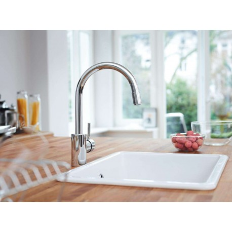 Mitigeur évier Grohe Concetto 32663001