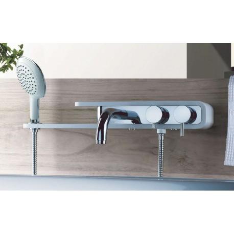 mitigeur bain douche pad m canique tablette int gr e de paini pas cher. Black Bedroom Furniture Sets. Home Design Ideas