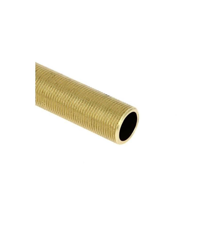 tube filet laiton 10 centim tres en laitonpas cher. Black Bedroom Furniture Sets. Home Design Ideas