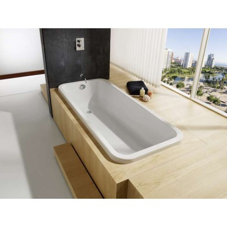 baignoire acrylique rectangulaire element de roca prix