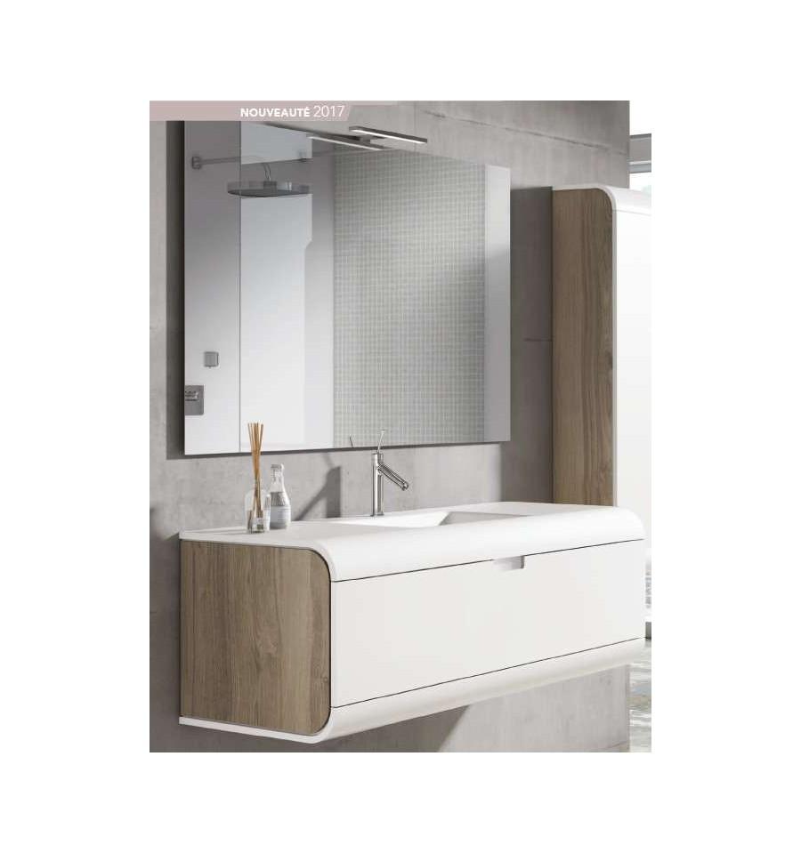 Pack austral 800 meuble 1 tiroir vasque o 39 design ottofond prix mini - Meuble 1 vasque ...