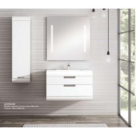 Pack Austral 1000 (Meuble 1 tiroir + Vasque) O'design par Ottofond