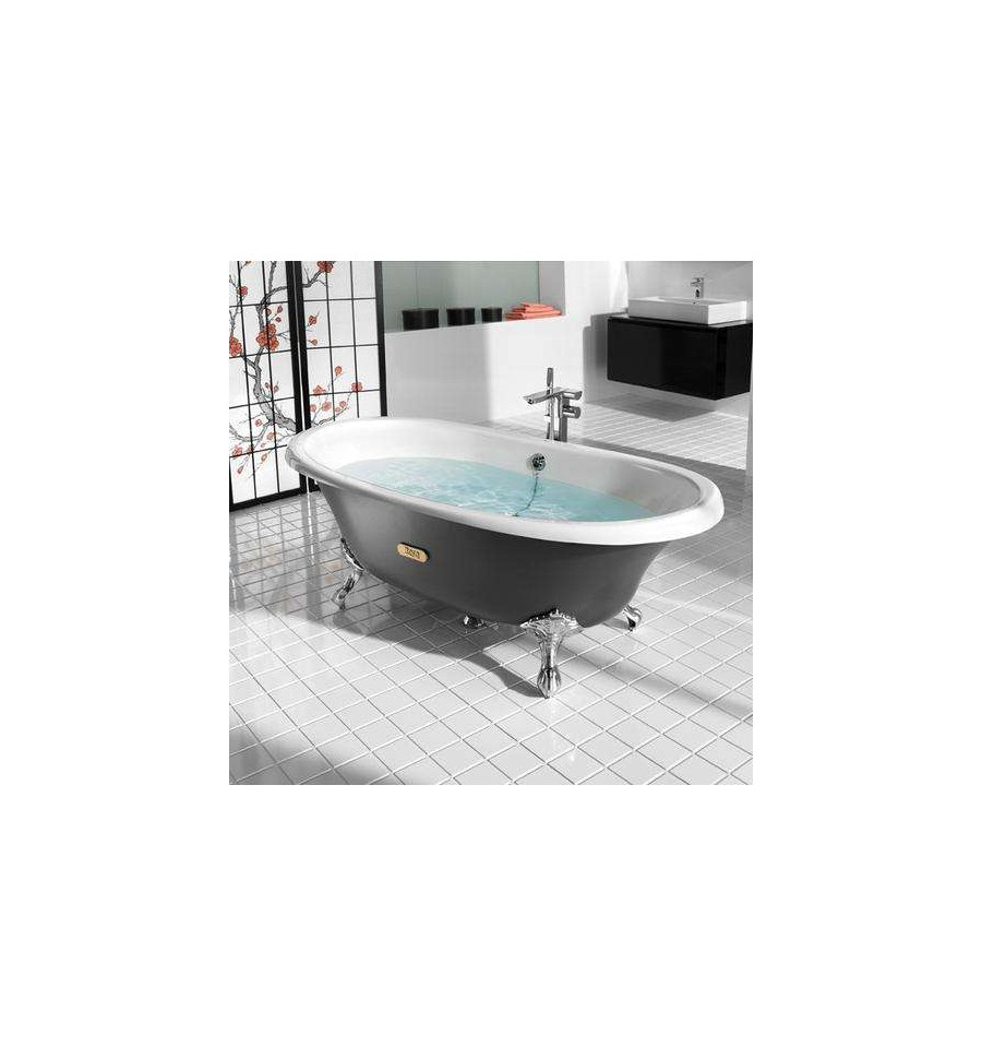 baignoire en fonte newcast eagle de roca prix fondu. Black Bedroom Furniture Sets. Home Design Ideas