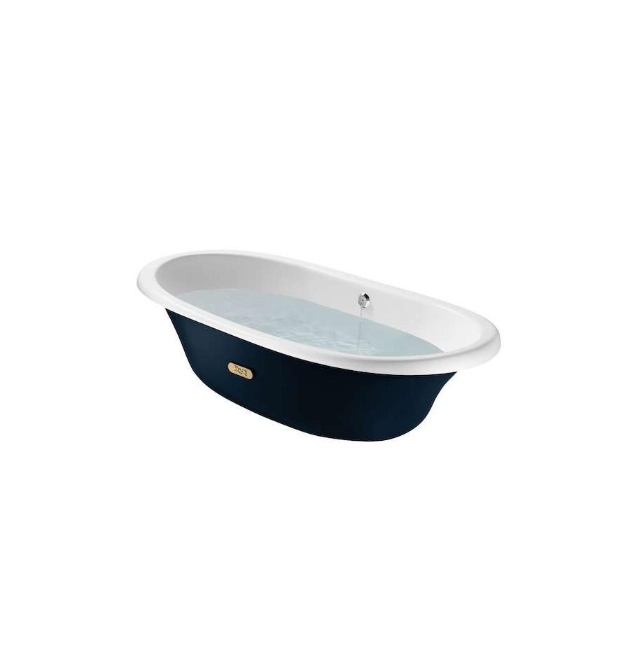 baignoire en fonte newcast classic de roca prix fondu. Black Bedroom Furniture Sets. Home Design Ideas