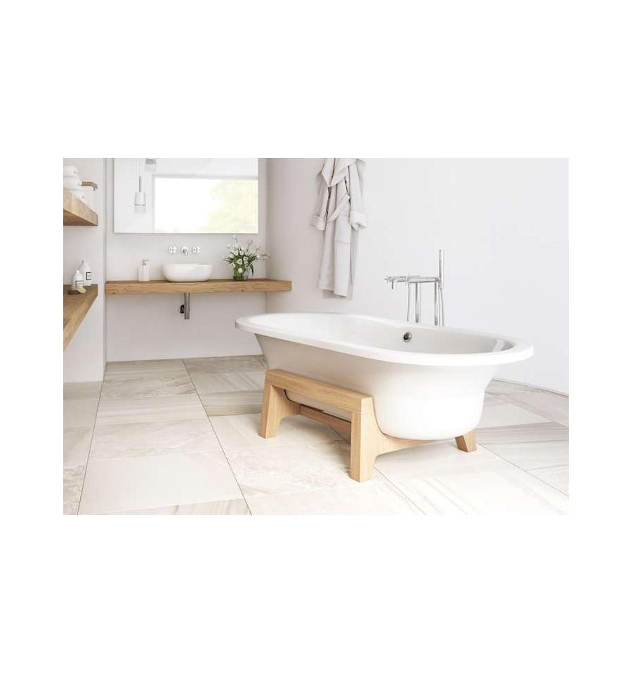 baignoire acier en ilot art plus de roca pas cher. Black Bedroom Furniture Sets. Home Design Ideas