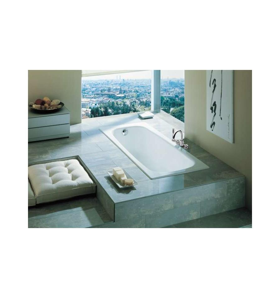 baignoire en fonte continental de roca. Black Bedroom Furniture Sets. Home Design Ideas