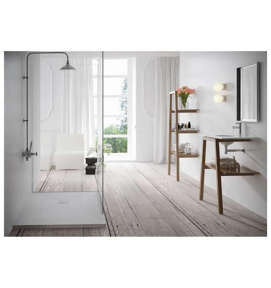 receveur douche sur mesure large 80 cm centuria stone. Black Bedroom Furniture Sets. Home Design Ideas