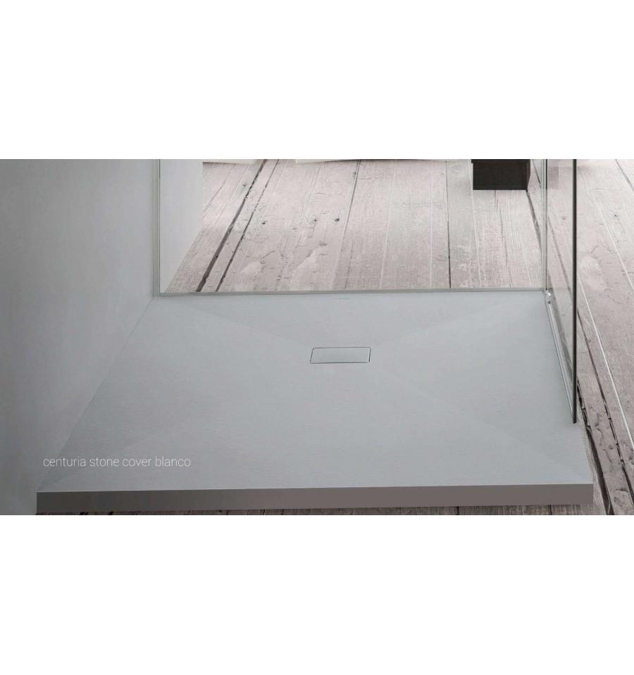 receveur douche sur mesure large 90 cm centuria stone. Black Bedroom Furniture Sets. Home Design Ideas