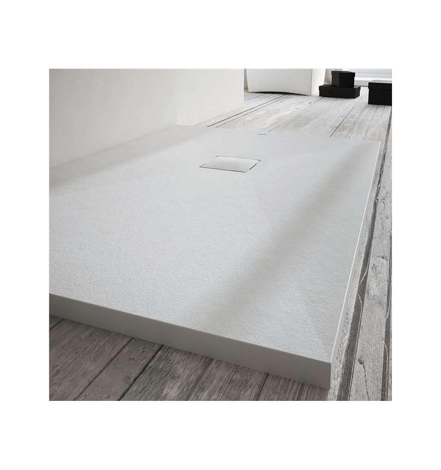 receveur douche sur mesure large 100 cm centuria stone cover mcbath prix pas cher. Black Bedroom Furniture Sets. Home Design Ideas