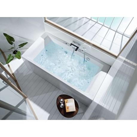 baignoire jacuzzi pas cher great perfect baignoire balneo pas cher brico depot tourcoing model. Black Bedroom Furniture Sets. Home Design Ideas