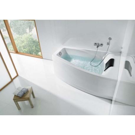 baignoire hall d 39 angle droite en acrylique de roca prix pas cher. Black Bedroom Furniture Sets. Home Design Ideas