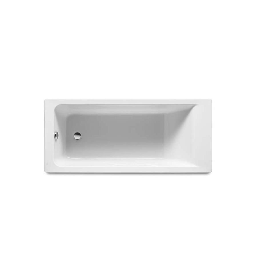 Baignoire easy rectangulaire en acrylique par roca prix for Baignoire acrylique prix