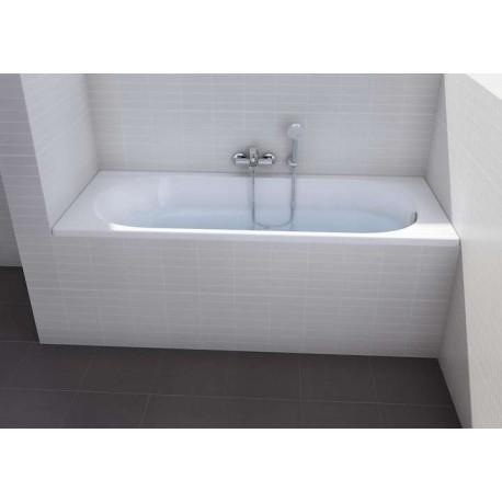baignoire neo genova rectangulaire acrylique de roca prix pas cher. Black Bedroom Furniture Sets. Home Design Ideas