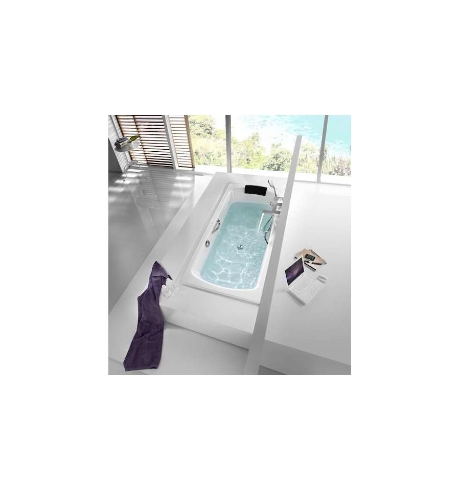 baignoire en acier lun plus de roca prix pas cher. Black Bedroom Furniture Sets. Home Design Ideas