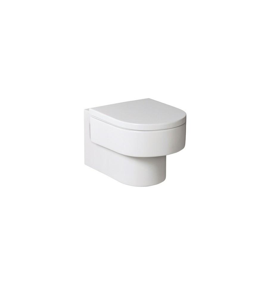 cuvette de wc suspendue happening de roca prix pas cher. Black Bedroom Furniture Sets. Home Design Ideas