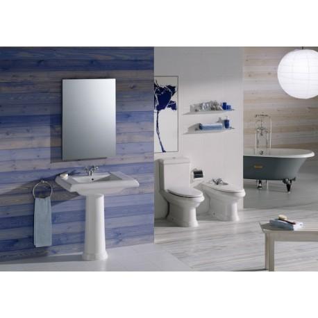 lavabo mural america 750 x 525 de roca prix pas cher. Black Bedroom Furniture Sets. Home Design Ideas