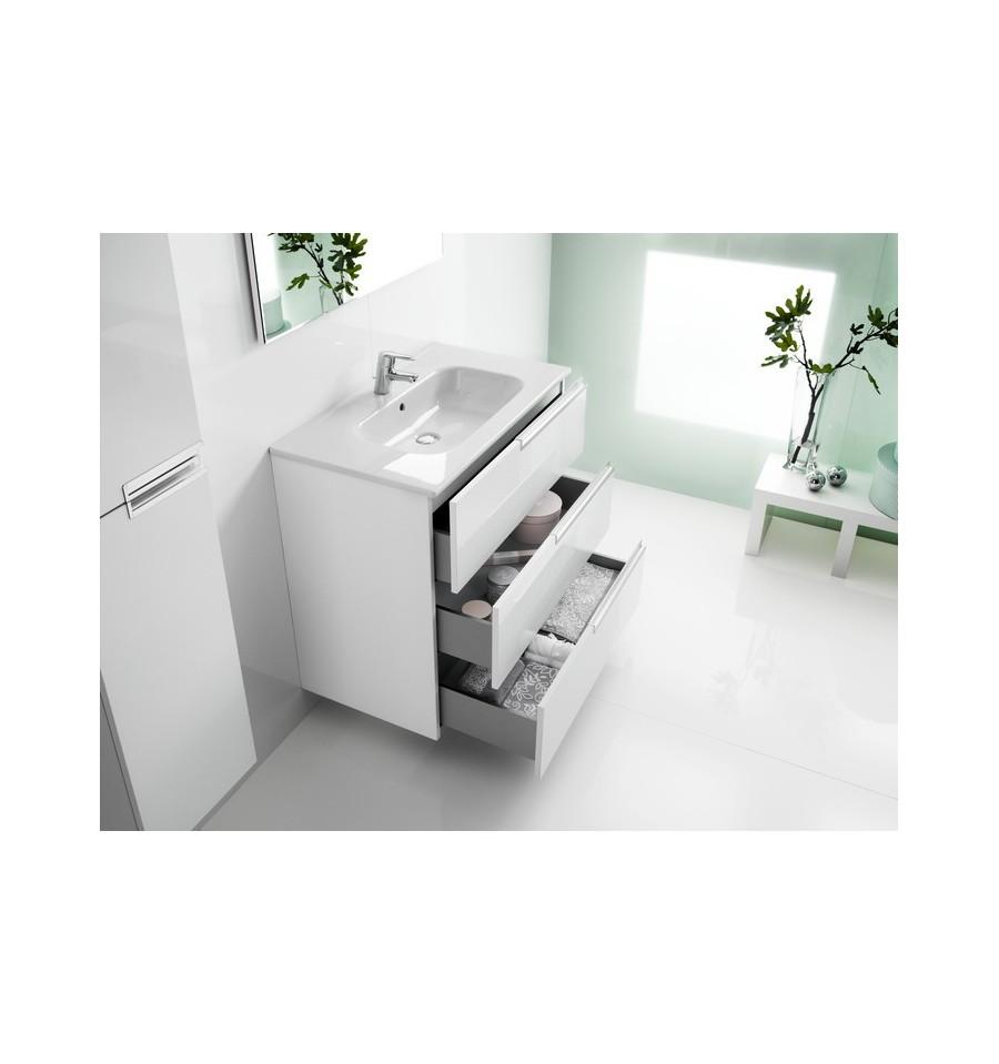 Pack complet meuble salle de bains victoria n family for Meuble lavabo miroir