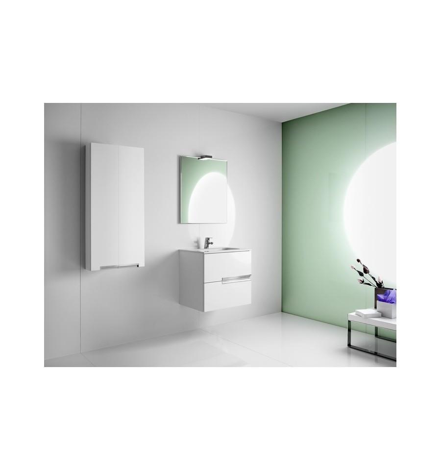 top pack victorian tiroirs miroir applique double roca with meuble de salle de bain roca. Black Bedroom Furniture Sets. Home Design Ideas