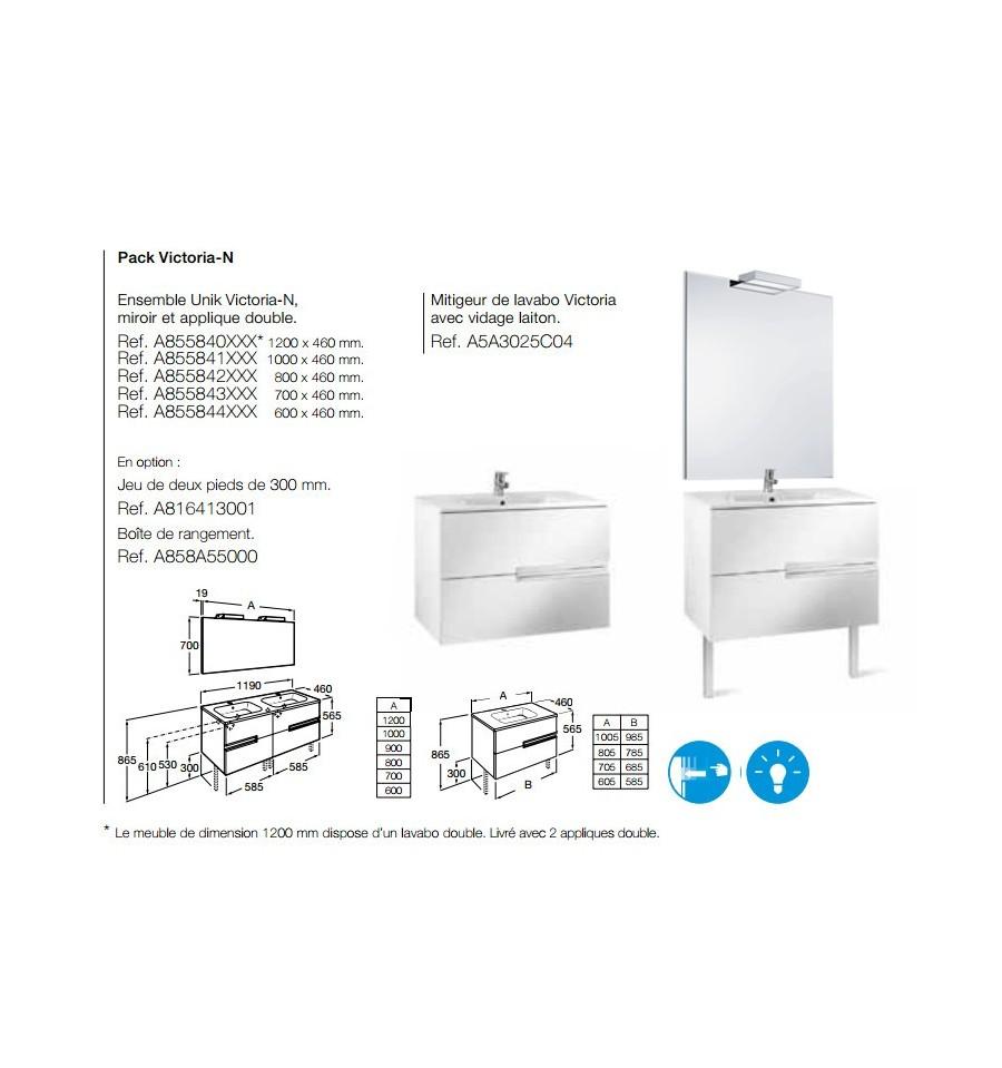 dimension lavabo double trendy double vasque salle de bain pas cher with dimension lavabo. Black Bedroom Furniture Sets. Home Design Ideas
