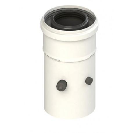 Départ de Chaudière 60/100 Apollo PP Isotip Joncoux pour Evacuation Fumée Chaudière Condensation
