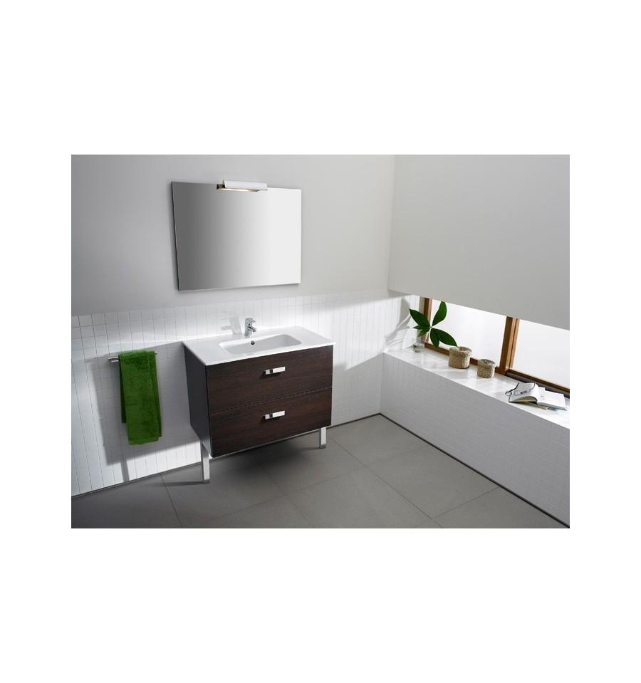 Pack meuble salle de bains unik victoria de roca prix cass for Meuble lavabo miroir