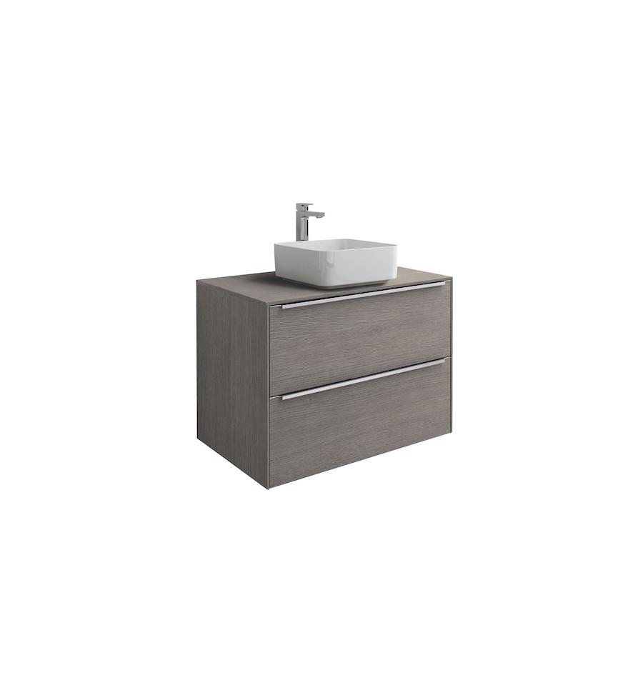 meuble 2 tiroirs l800mm pour vasque inspira par roca prix pas cher. Black Bedroom Furniture Sets. Home Design Ideas