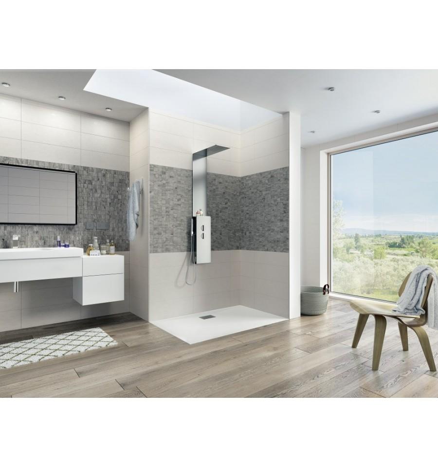 kinedo prix top receveur douche x avec receveur douche kinesurf x extraplat par kinedo prix pas. Black Bedroom Furniture Sets. Home Design Ideas