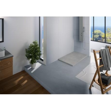 receveur douche kinerock 120x100 par kinedo prix pas cher. Black Bedroom Furniture Sets. Home Design Ideas