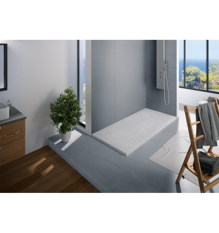 receveur douche kinerock 160x90 par kinedo prix pas cher. Black Bedroom Furniture Sets. Home Design Ideas
