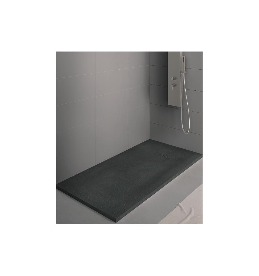 receveur douche kinerock 180x80 par kinedo prix pas cher. Black Bedroom Furniture Sets. Home Design Ideas