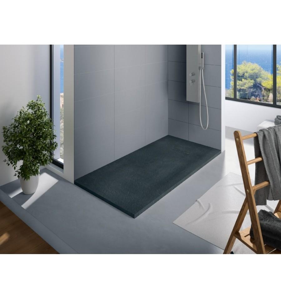 receveur douche kinerock 180x100 par kinedo prix pas cher. Black Bedroom Furniture Sets. Home Design Ideas