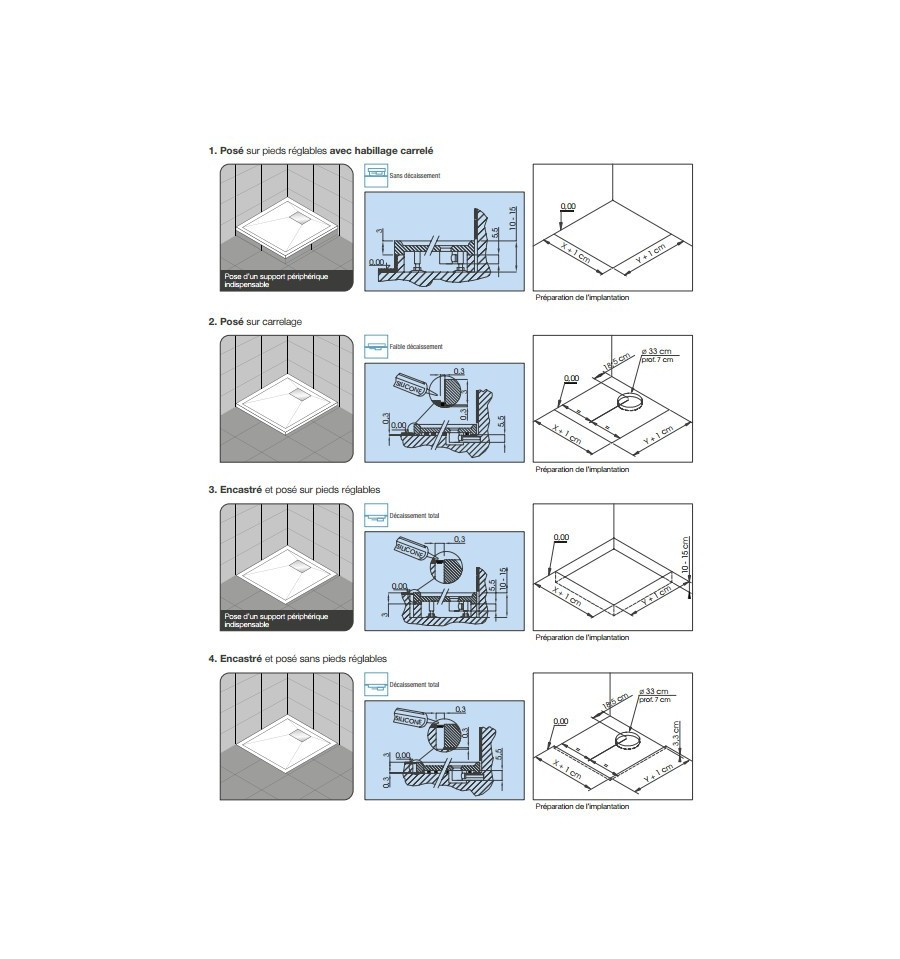 receveur douche kinesurf 80x80 extraplat par kinedo prix. Black Bedroom Furniture Sets. Home Design Ideas