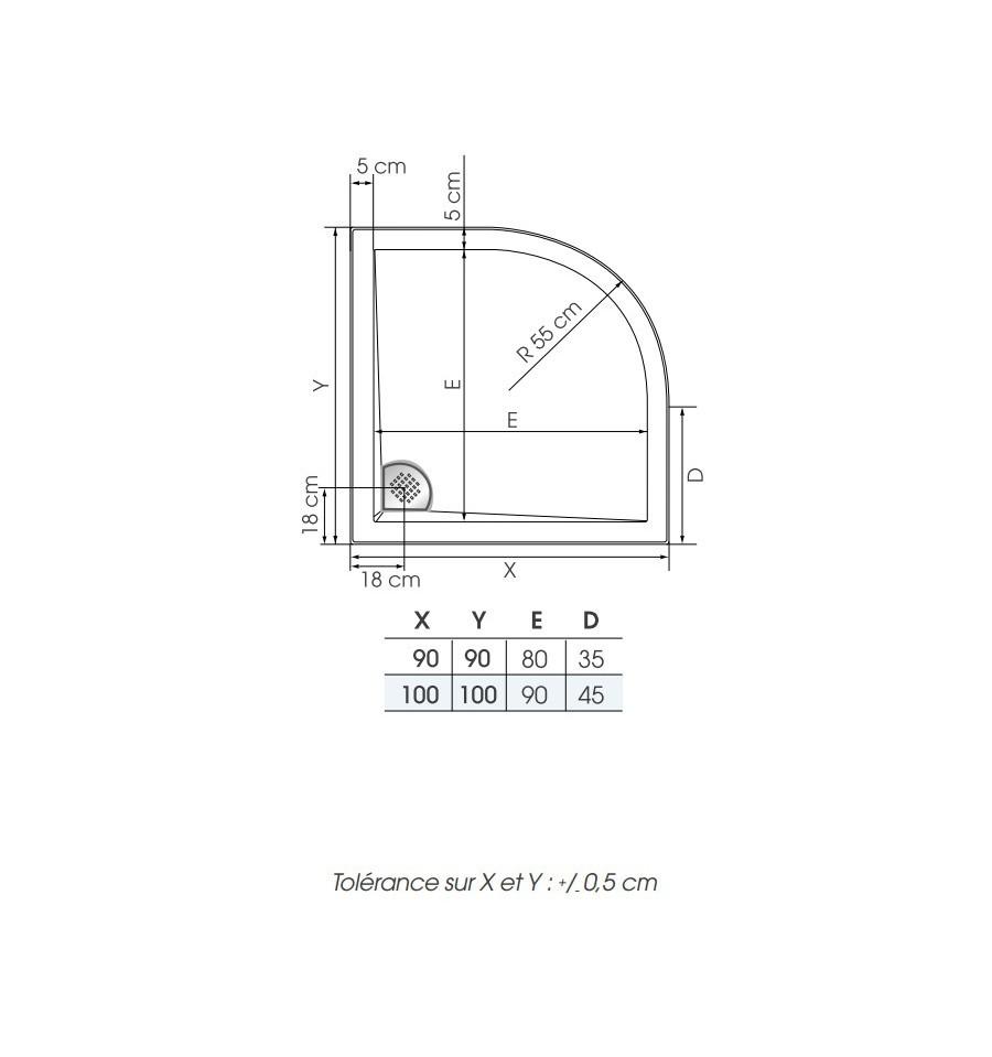 kinesurf 140x80 cheap kinerock receveur douche kinedo with kinesurf 140x80 good receveur. Black Bedroom Furniture Sets. Home Design Ideas