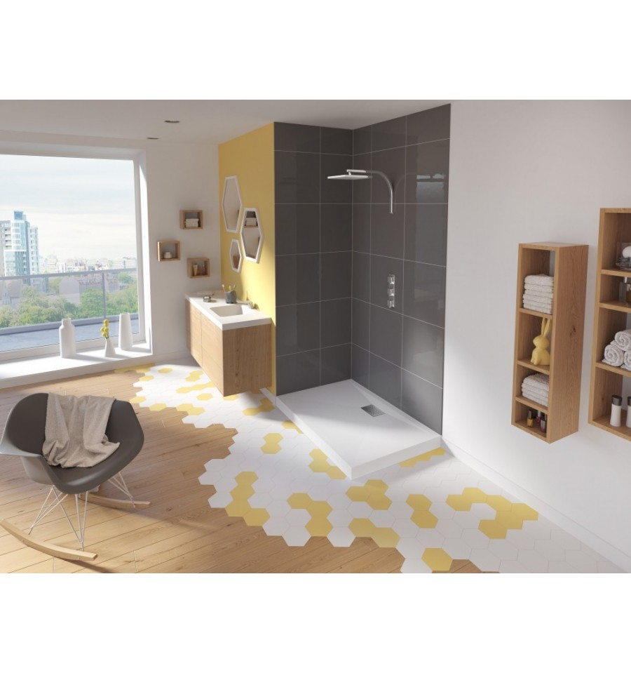 receveur douche kinesurf 160x70 par kinedo prix pas cher. Black Bedroom Furniture Sets. Home Design Ideas