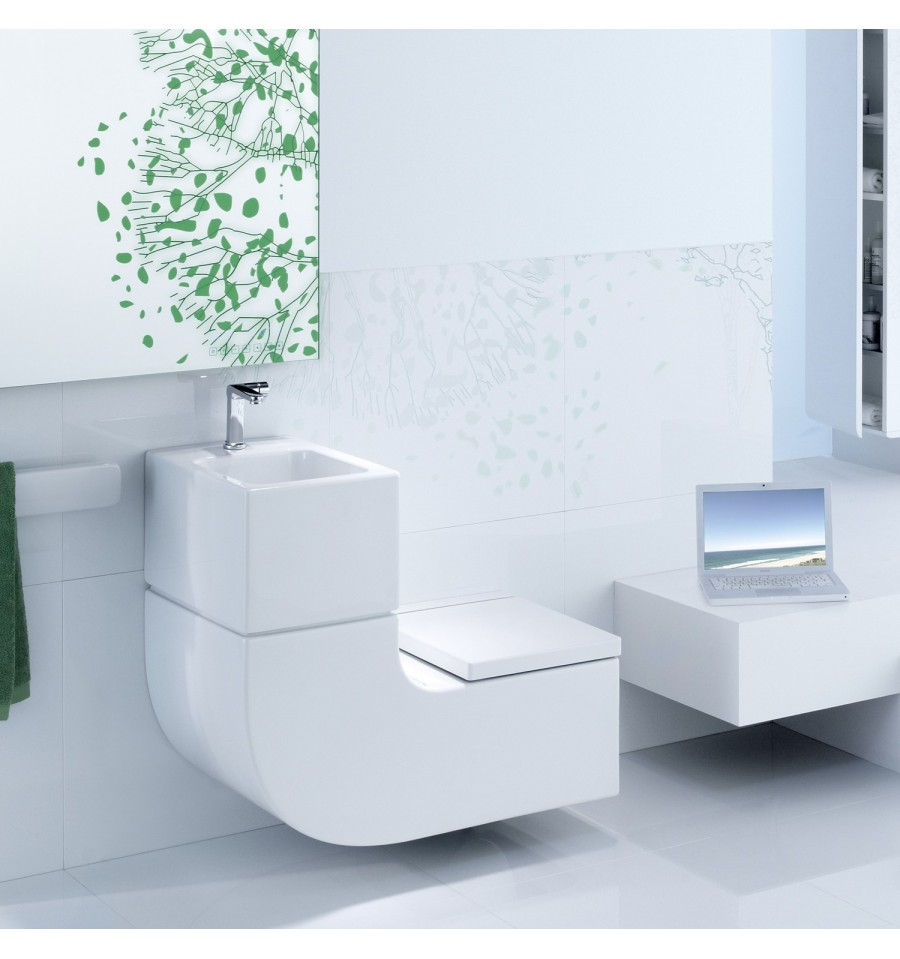 wc lave main intgr roca simple le monde du bain meuble lavemain salle de bain design siena. Black Bedroom Furniture Sets. Home Design Ideas