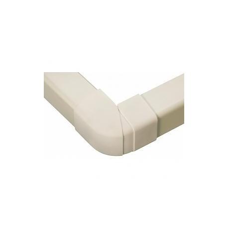 Goulotte plastique Angle extérieur réglable 70-120° Ø 80