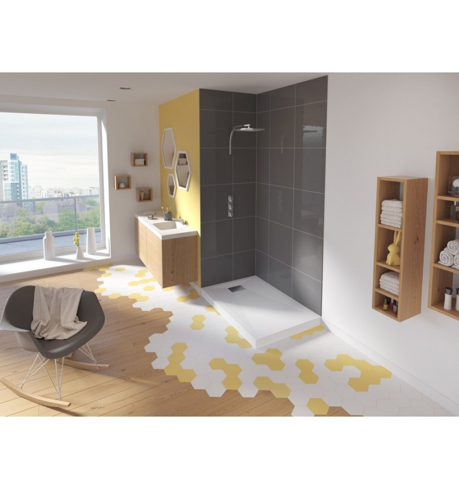 receveur douche kinesurf 120x90 par kinedo prix pas cher. Black Bedroom Furniture Sets. Home Design Ideas