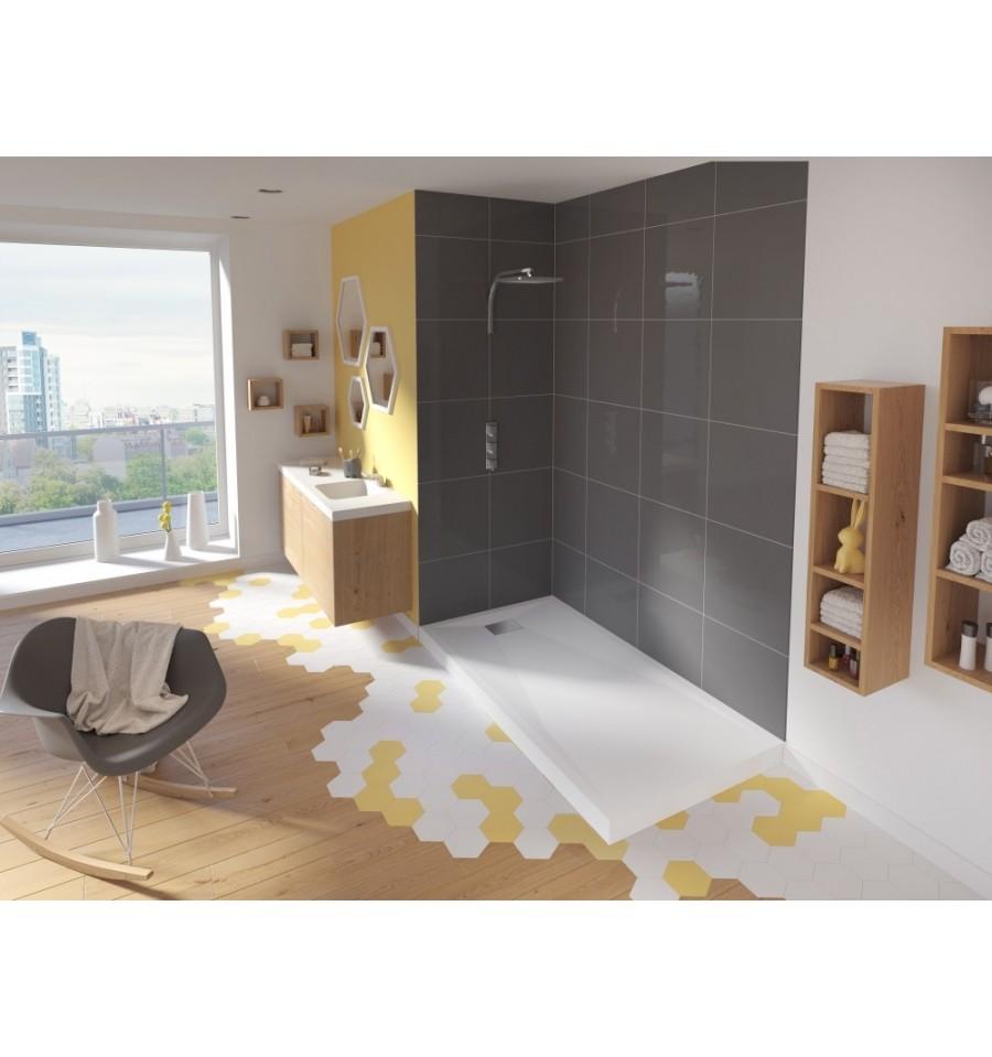 Receveur douche kinesurf 160x90 par kinedo prix pas cher for Receveur douche exterieure piscine